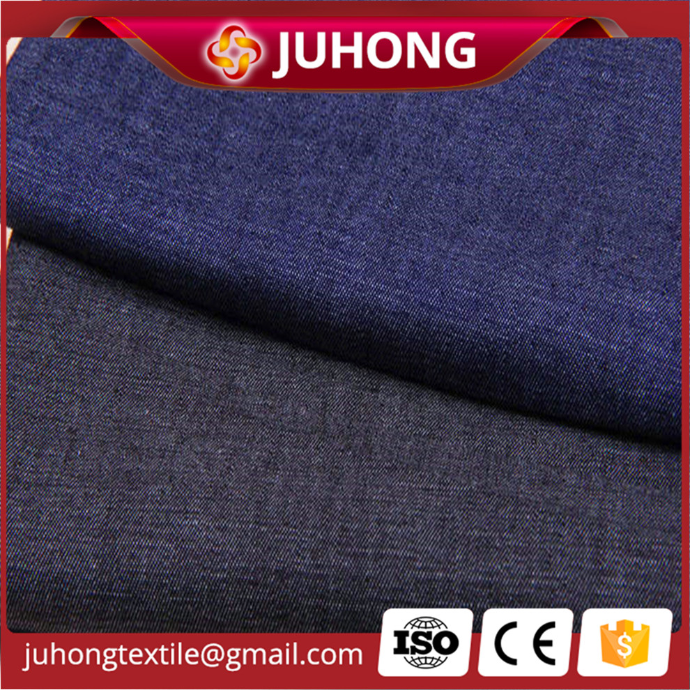 high quality yarn dye blue denim shirting fabric