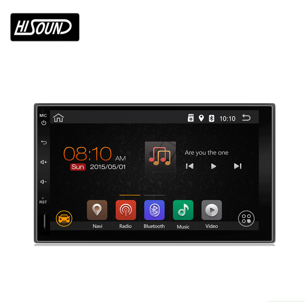 High quality 7inch touch screen 2din android 7.1 android audio car stereo player