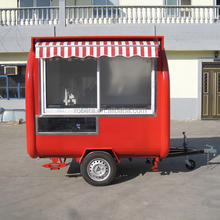 Manufacture Customized Pizza Fast Food Trailer/ Modern Design Towable Mobile Pizza Food Cart for Sale