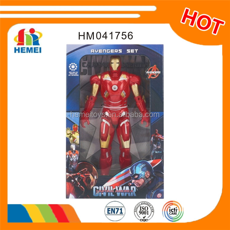 movie character action figure plastic ironman action figure wholesale