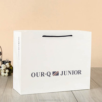 Custom printed Branded Shopping Bag Paper with logo print