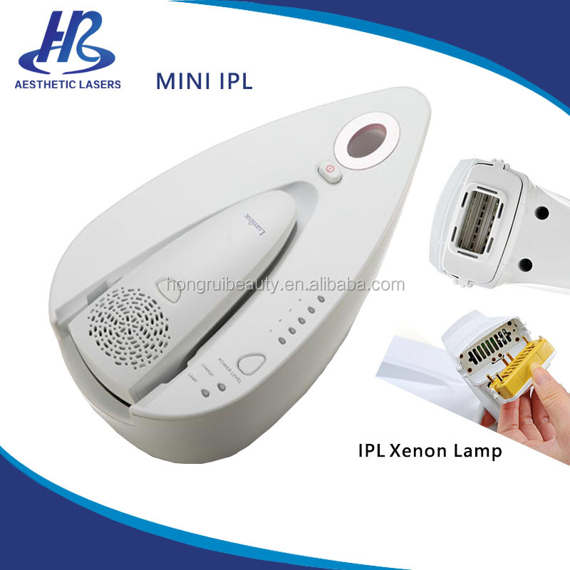 Portable IPL Permanent Hair Removal Home Use Skin Rejuvenate Intense Pulse Light Machine