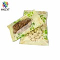 Full color printed 1kg plastic dried food packaging bag for cashew nuts