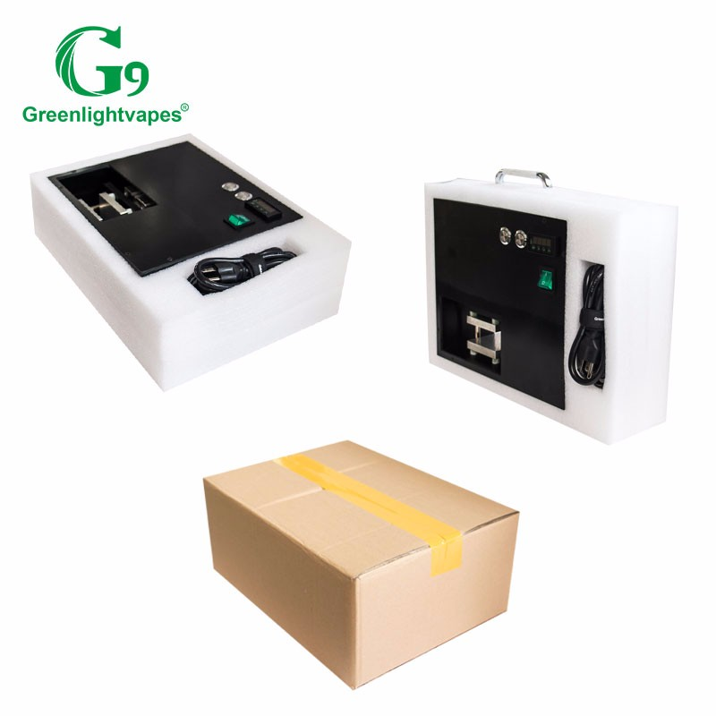 China manufacturer G9 mini rosin press 2-in-1 press and vape device to extract oil wax glass pipe