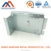 OEM Zinc Plated Punching Steel Sheet Electrical Panel Accessories