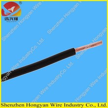 factory price 0.5/0.75/1.0mm cooper condutor rv/rvv electric cable with pvc insulation