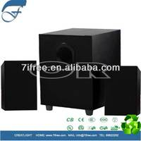 2.1 speaker 20w mini vibration speaker amplifier