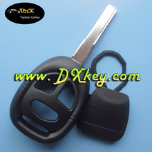 Hot selling 3 button remote key cover 2 track with blad for car key blank