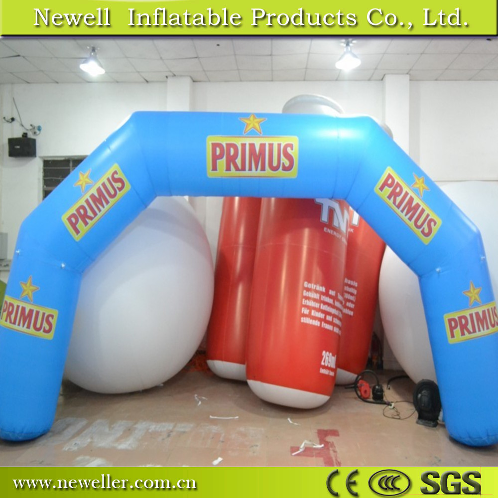 Great Quality inflatable water arch with OEM logo