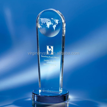 Hot sale Europe Regional Feature and Laser Engraved Carving Type 3d laser crystal trophy