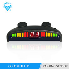 Bibibi Car reverse backup LED Display parking sensor kit assist system