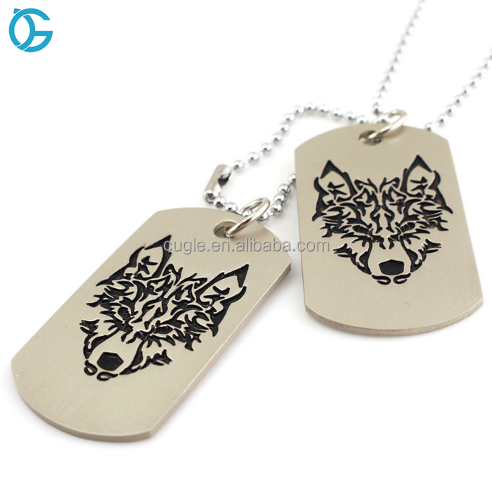 Make Your Special Design Metal Dog Hang Tag Stainless Steel Name Plate