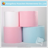 China Mainland Stiff Feel Non Woven Fabric