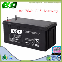 12V175ah industrial solar storage battery for measuring and medical equipment