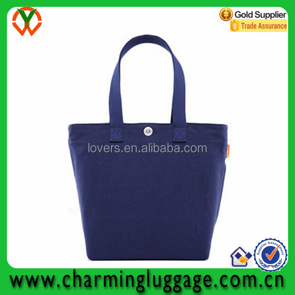 Shenzhen factory wholesale standard size canvas bag tote