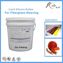 clear silicone rubber for fire resisting sleeves (LSR1318) China