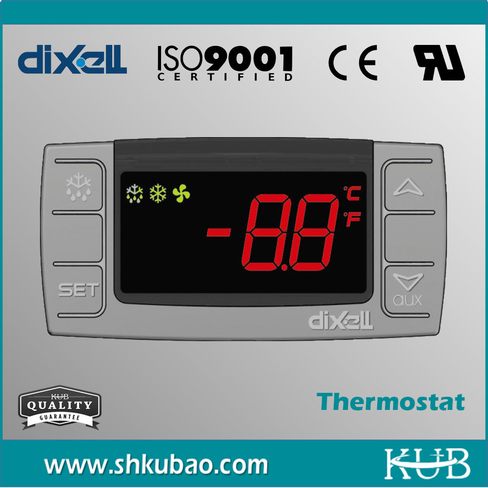Dixell digital basic refrigeration temperature controller 220V 8(3)A / 250V 20(8)A XR01CX XR02CX