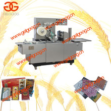 Automatic Cellophane Packing Machine|3D Paper Box Cellophane Wrapping Machine|Perfume Box Film Packing Machine