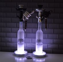 Multi-Colors LED shisha&hoakah bottle lighting for table