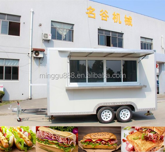 shanghai zhicheng sweet corn steamer cart/ mould type food kiosk used food trucks for sale in germany