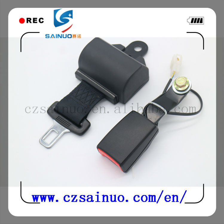 High quality 2 point retractable seat belt sensor made in china