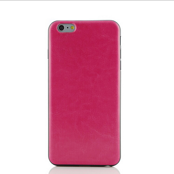 PU back cover mobile phone case for iphone4/4s