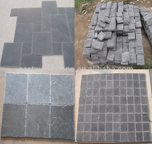 China Blue Limestone Wall Brick Mosaic tiles