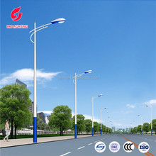 galvanized street light pole, led pole light