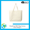 White Printed Organic Cotton Canvas Wholesale Tote Bags
