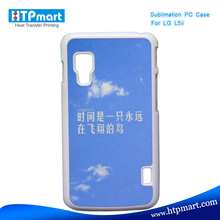 2D pc blank sublimation phone case for lg optimus l5 ii dual e455