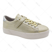 Newest style most popular white no lace canvas shoes