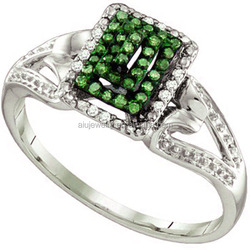 Alibaba china best sell sterling silver ring emerald