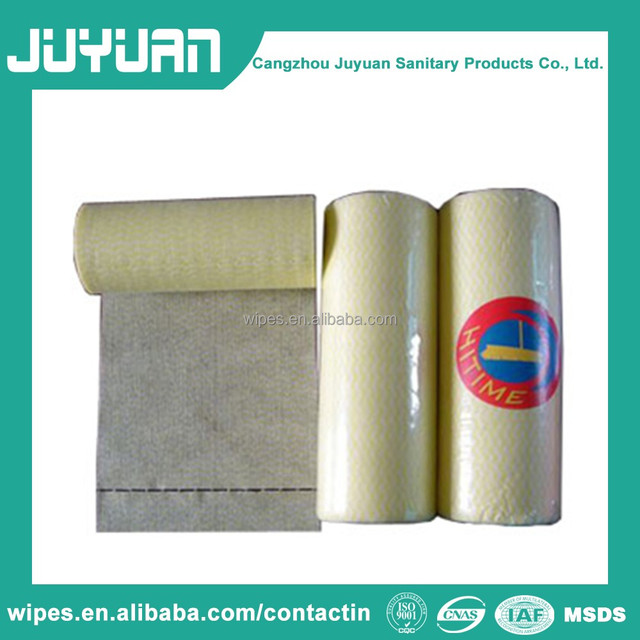 Eco-friendly biodegradable Nonwoven lint free cleaning wipes