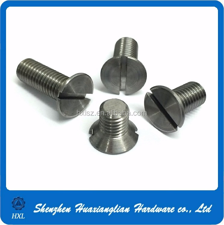 All types din965 din963 din7991 m3 m4 m5 m6 m8 m10 m12 countersunk screw