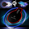 Qi Wireless Charger Charging Pad Original wireless charger for SAMSUNG GALAXY S6 S6 Edge S7 S7 Edge Note 5