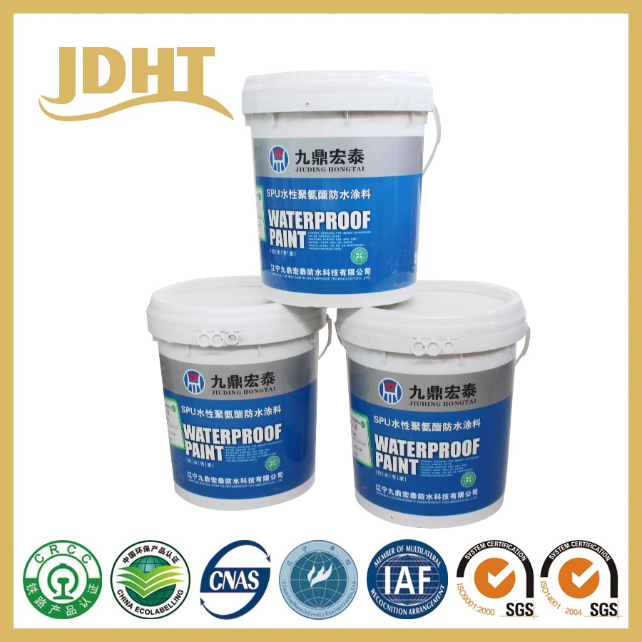 Water Based Polyurethane Waterproofing Coating