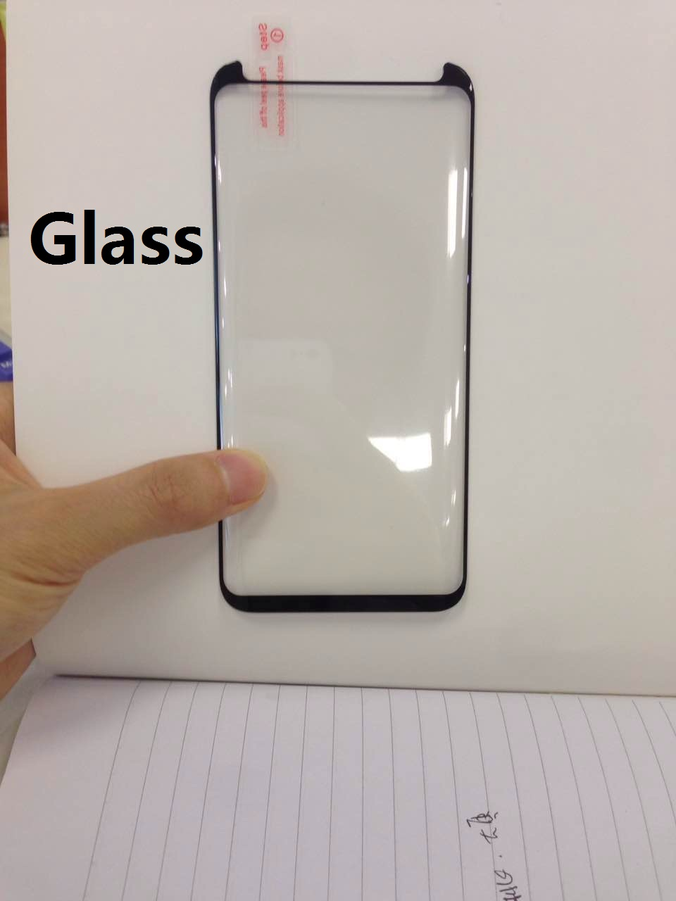 New product !!! For samsung Galaxy S8 Case Friendly tempered glass screen protector / hot bend 3D curved S8 plus tempered