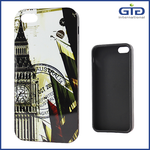 Full Cover Back Screen Mobile Phone Case for Apple for iphone 5S, TPU IMD Craft OME Manufactory
