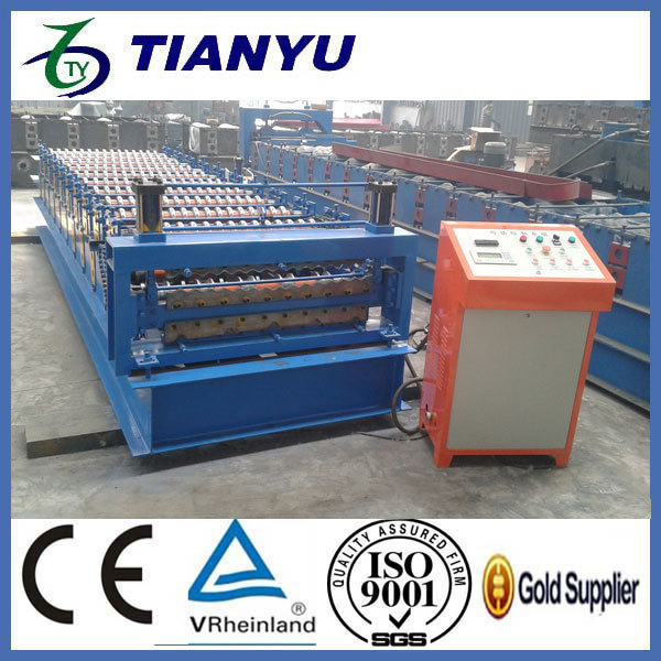 steel roof & wall roll forming machine stone cutting machine