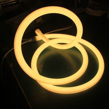 Super bright round led neon flex 360 neon rope light