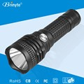 2015 Latest rechargeable waterproof powerful outdoor torch light