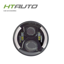 HTAUTO Bi xenon Projector Led High Low Headlight 60W 10V-30V LED Car Headlight