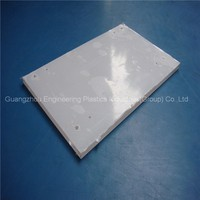 Good weather resistance and UV protection transparent plastic polycarbonate sheet pc solid sheet