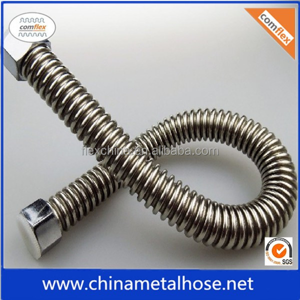 heat resistance corrugated stainless steel tube flexible metal hose