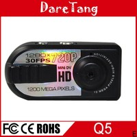 small size thumb camera Q5 hd mini dv 720p manual