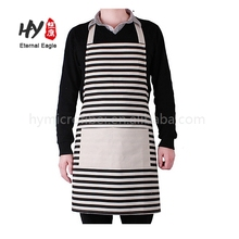 Washable household 100% cotton kitchen apron