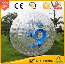 Top end high quality inflatable football human body zorb ball