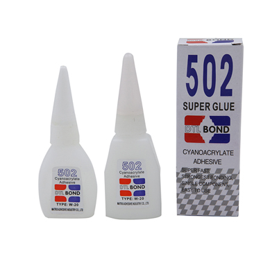 super fast strong bonding single component super glue 502
