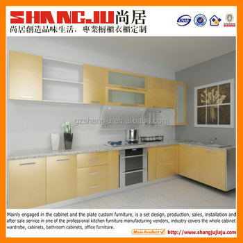 top quality mfc kitchen cabinet China kitchen cabinet factory