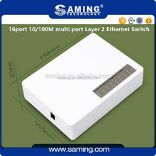 Exclusive 16port 10/100M multi port Layer 2 Ethernet Switch